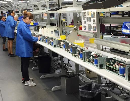 Power Supply Assembly Line - Custom and Commercial