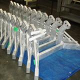 Heavy mil-spec welding: aluminum frames with close tolerances.