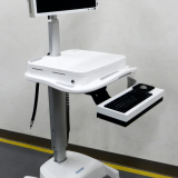 Medical ultrasound cart assembly