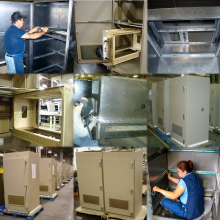 Heavy cabinets in production (from engineering to assembly)